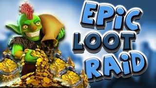 Clash of Clans | Epic Loot Raid #3 - Insane 1.5 Million In Total