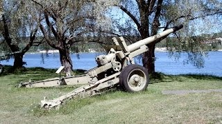 152-мм гаубиця-гармата МЛ-20).