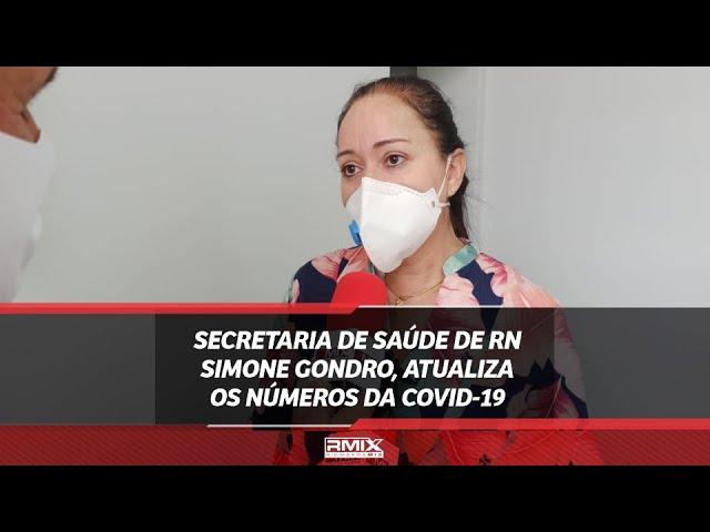 Saúde: Secretaria Simone Gondro, atualiza os números da covid-19 e fala sobre vacinação.
