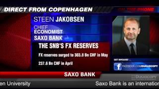 Saxo Bank on SNB & EUR/CHF floor