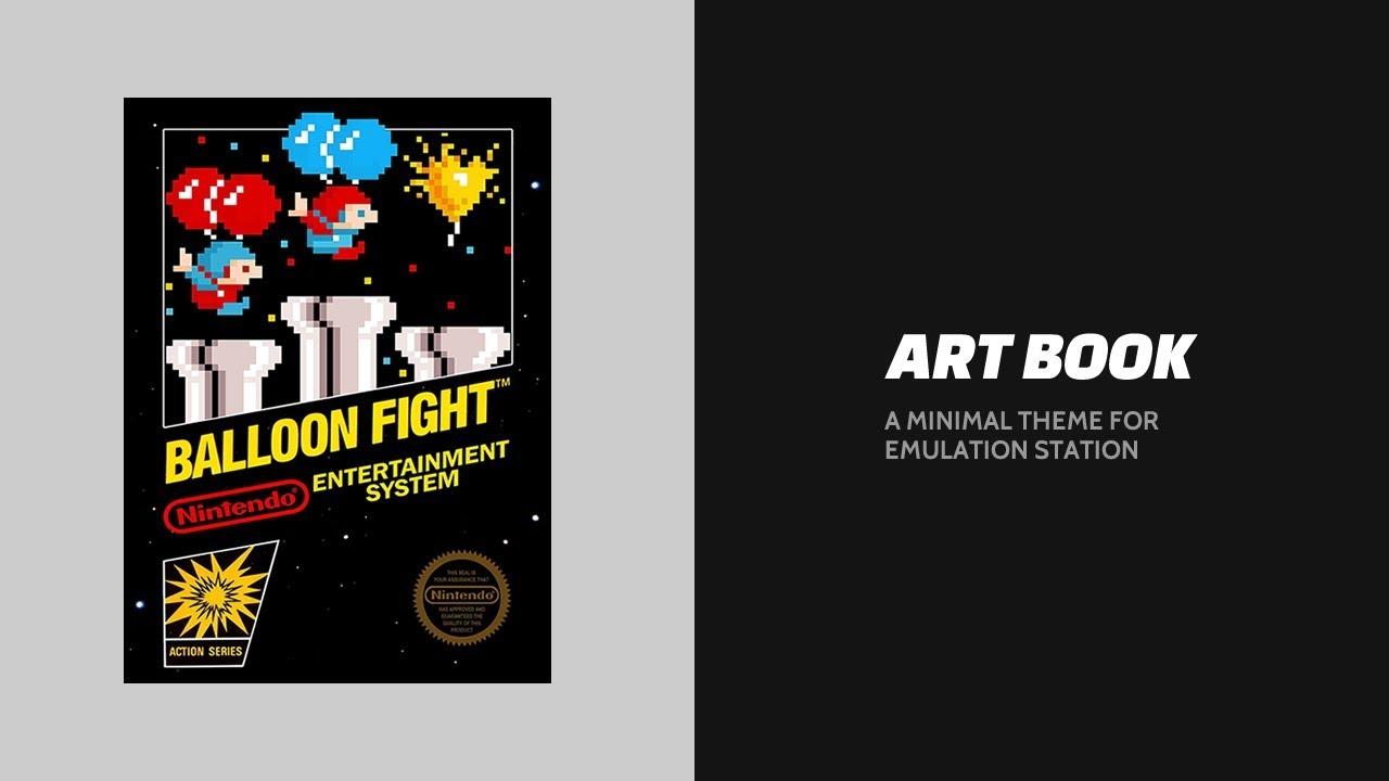 Theme] Art Book - RetroPie Forum