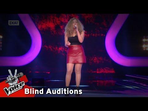 Εβίτα Λάρκου - Listen | 6o Blind Audition | The Voice of Greece