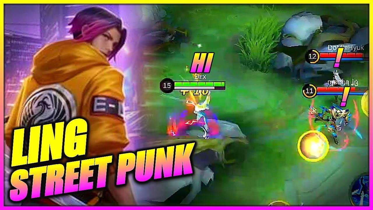 LING MONTAGE 5 | Ling street punk | JU DEX | MLBB - YouTube