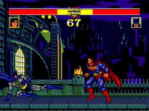 Sega genesis games fight