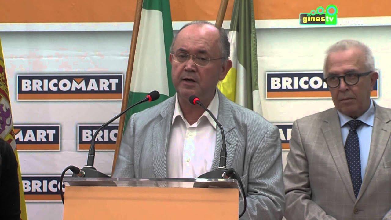 La inauguración del centro Bricomart, nuevo impulso al empleo de los vecinos de Gines