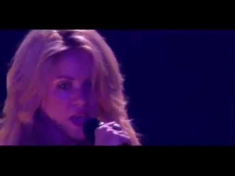 Shakira-She Wolf Live In Paris