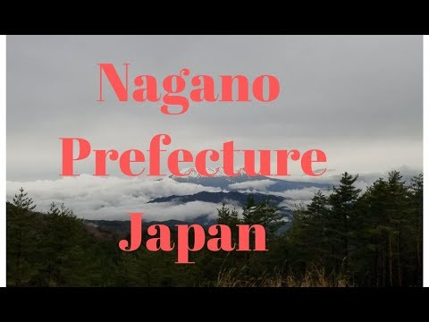 Nagano Japan kiso valley and Monkey Park