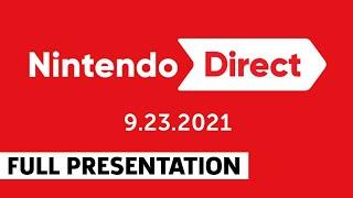 Nintendo Direct Full Showcase September 2021