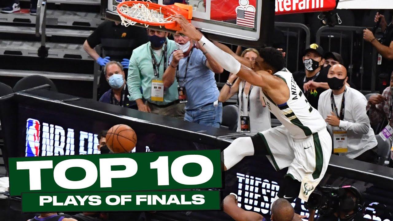 Top 10 Bucks Plays of the 2020-21 NBA Finals 🤩