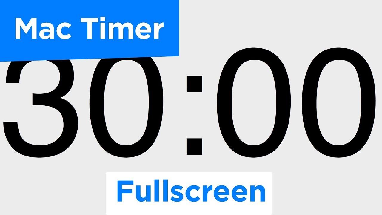 Super Easy Timer - Fullscreen Countdown Timer for macOS High Sierra 10 13  (8/8)