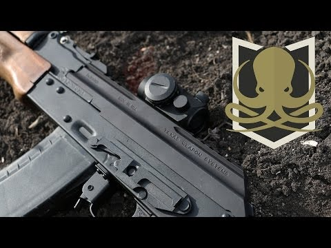 Texas Weapon Systems Dog Leg Scope Mount Install/Review