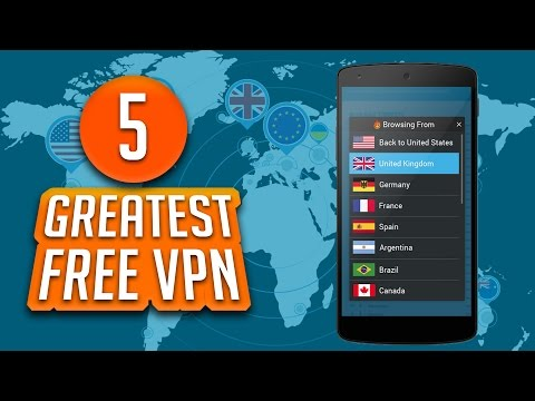 Top 5 Best FREE VPN Services Of All Time
