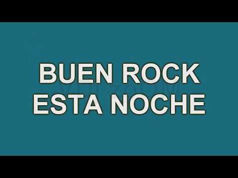 Rock And Roll Karaoke Mix   Presumida, Polvora y Buen Rock Esta Noche