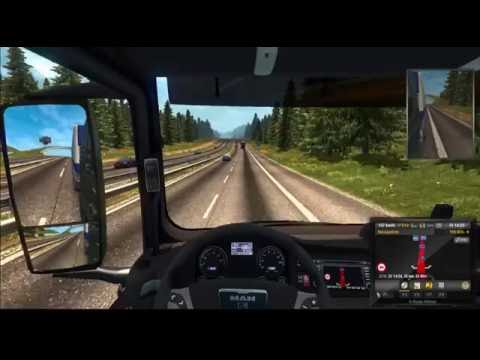 Reisproject Map [ETS2] Hamburg - Trier