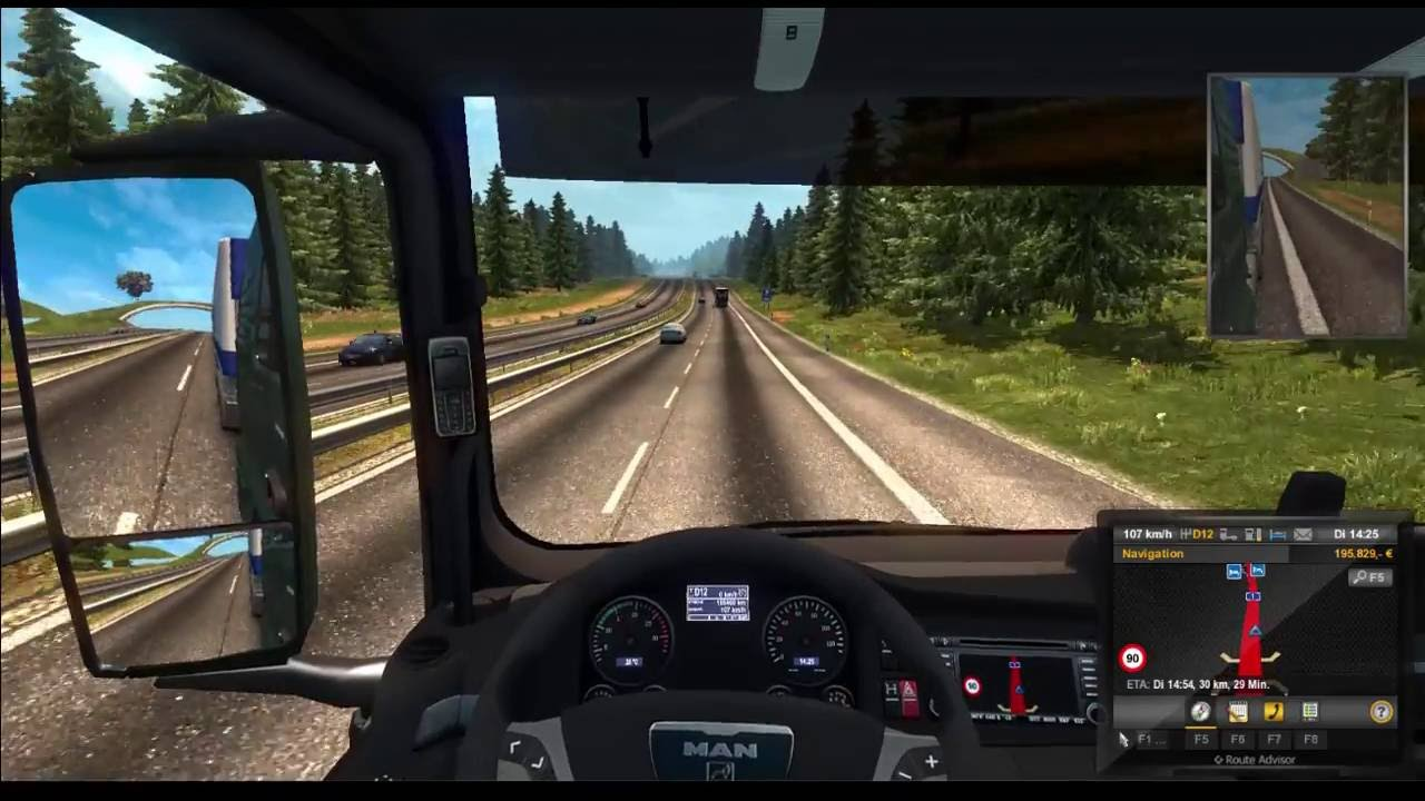 Reisproject Map ETS2 Hamburg Trier YouTube