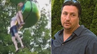 Dad Who Rescued 14-Year-Old Who Fell Fr...