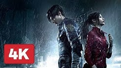 Resident Evil 2 Remake All movie Cutscenes[ Leon and claire] 4k hd Ultra hd 2019