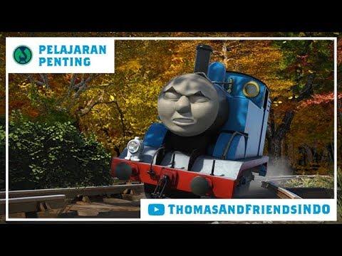 Kereta Thomas & Friends Bahasa Indonesia - Pelajaran Penting - Beritahu Orang Lain Saat Kau Pergi
