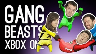 Gang Beasts Live! Gang Beasts Xbox One with Outside Xbox and Outside Xtra at EGX 2019