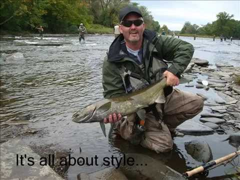 Salmon fishing pulaski ny youtube for Salmon river ny fishing