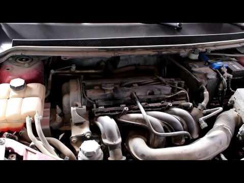 Ford Focus II 1,6 Форд Фокус 2009 года Замена масла свечей зажигания и фильтров