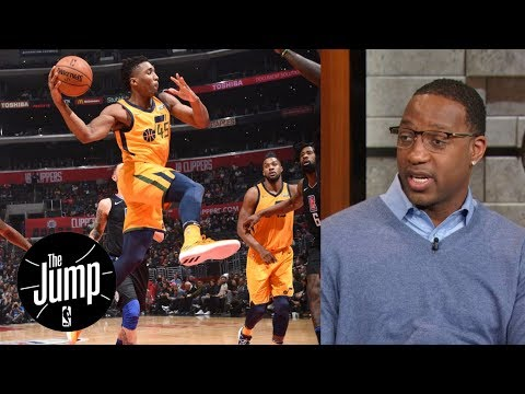 Tracy McGrady says Donovan Mitchell doesn't play like a rookie | The Jump | ESPN