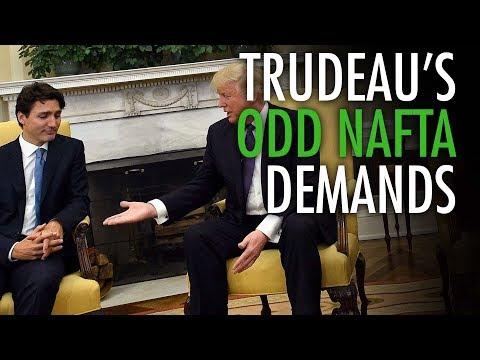 Ezra Levant: Trudeau's trade fights with Trump hurt Canada