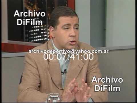 Fabian Doman Debate Escándalo Lewinsky Bill Clinton - DiFilm (1998)