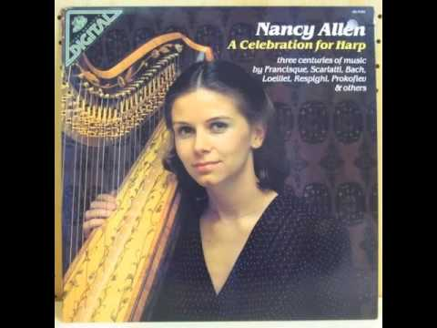 Respighi Ancient Airs and Dances Suite 1 Siciliana - Nancy Allen harp