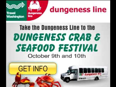 Online ad for Dungeness Line in Port Angeles