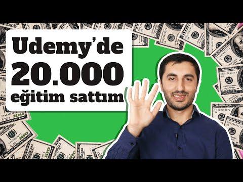 Udemy'de 20.000 Eğitim Nasıl Sattım? - Udemy Başarı Hikayesi | Murat Yücedağ