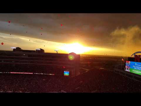 Cornhuskers Gameday Balloon Release