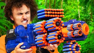 World's Most EXPENSIVE NERF BATTLE! (Challenge)