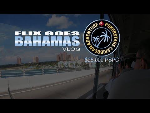 Atlantis oder Atlanta? | Das $25.000 Bahamas Poker Abenteuer | VLOG #1