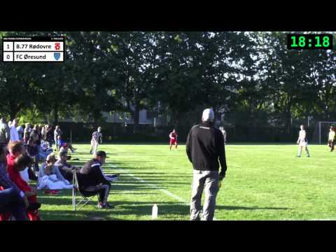 B77 Rødovre  FC Øresund  DBU Pokalkamp 27052014  1. hal