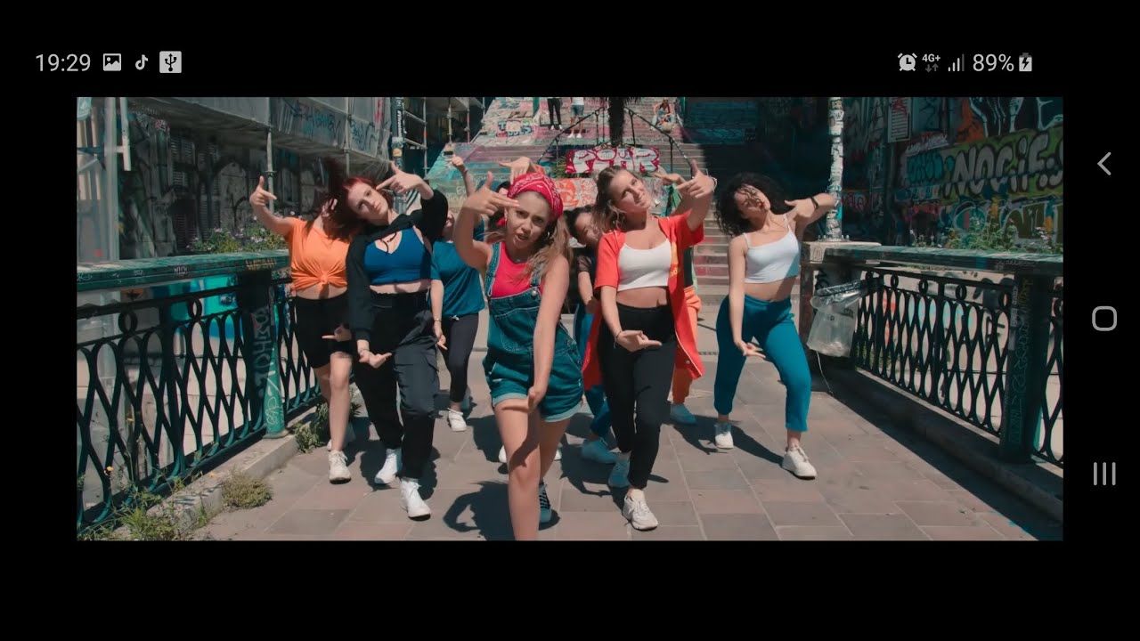 "CLIP VIDEO ""JALOUSE"" Maëlyss - CHOREGRAPHE SANDRA VEERSE"