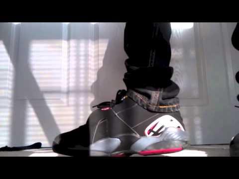 Playoff 8s 2013 On Feet Air Jordan Retro Playo...