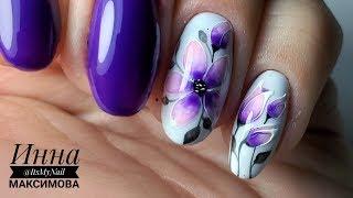 ❤  ВЕСЕННИЙ дизайн ногтей ❤  PATRISA NAIL ❤  рисуем ЦВЕТЫ на ногтях ❤  ПРОСТОЙ дизайн ногтей ❤