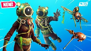 The New DEEP SEA SKINS in Fortnite..