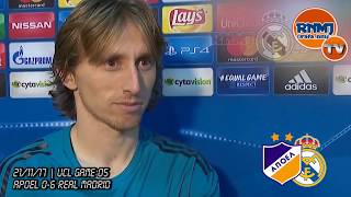 LUKA MODRIC post Apoel 0-6 Real Madrid | Champions League (21/11/2017)