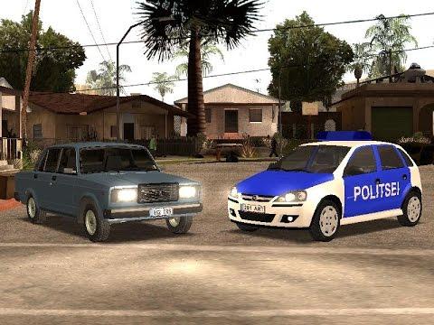 GTA San Andreas Eesti modid + LINK Lada ja politsei