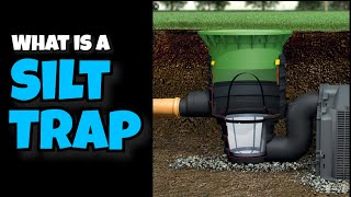 what is a silt trap chamber