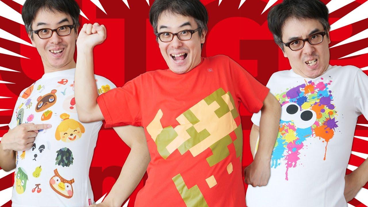 ユニクロの任天堂コラボTシャツ、ついに発売!どうぶつの森 キッズTシャツを無理やり着る36歳のおじキッズ!!!