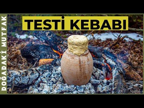 Ormanda Testi Kebabı (Yozgat) | Testi Kebab in the Nature (Yozgat)