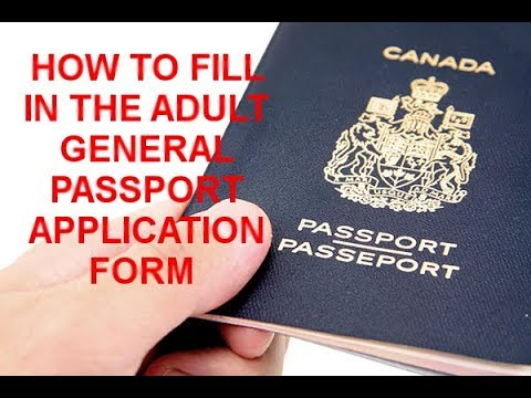 Canadian passport forms for adult pics 33