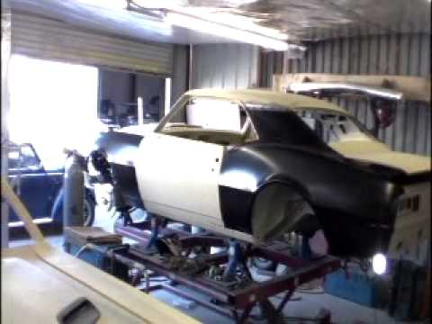 Welding Quarter Panels On The 1968 Camaro Muscle Cars