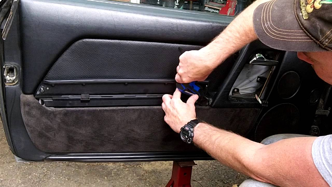 Mercedes Benz R129 500sl 300sl 600sl Door Panel Removal Youtube