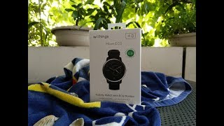 Unboxing of Withings Move ECG watch