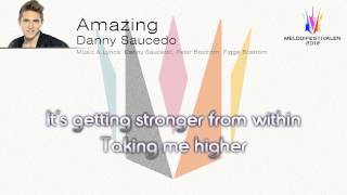 "Danny Saucedo - ""Amazing"" (Unofficial Karaoke version)"