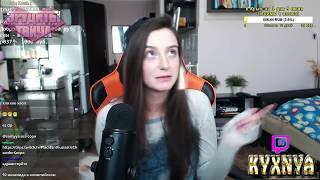 Девушки с Twitch  # 77 | Вся грудь красная  | Рейдж | Стример наркоман